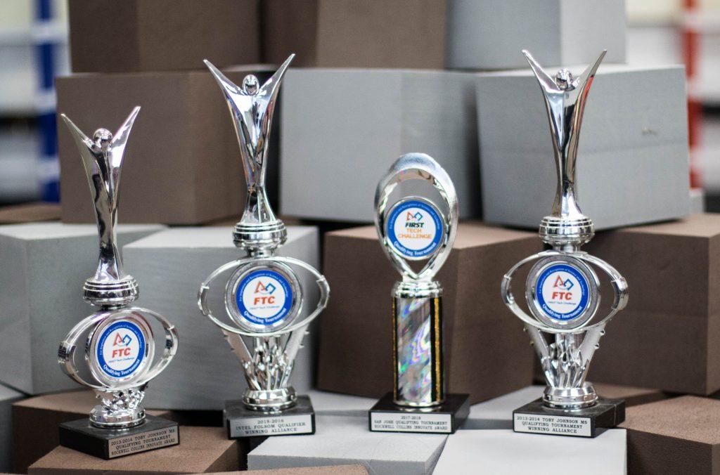 Trophies won thus far